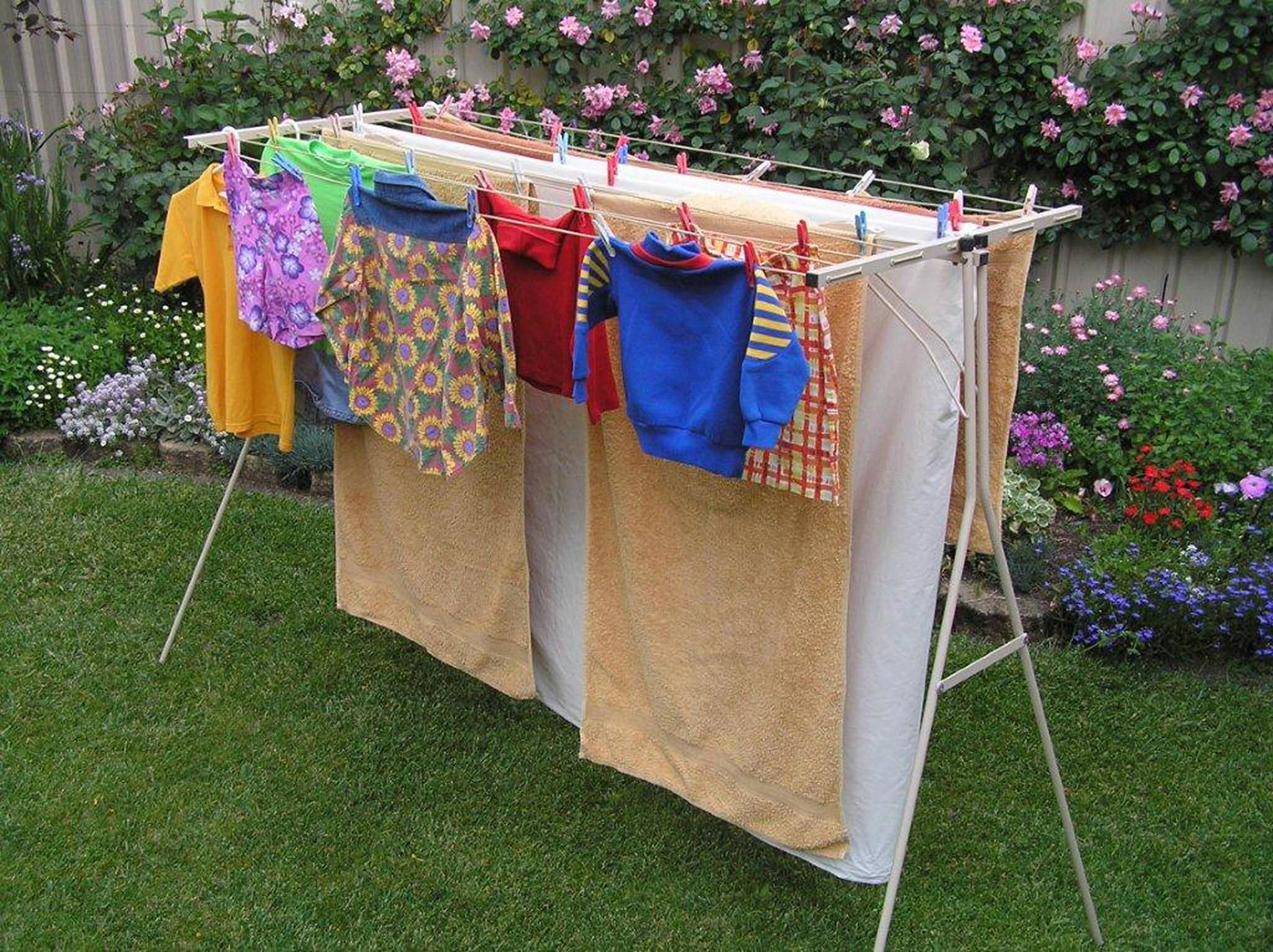 Portable clothesline for outside stanley vidmar workbench