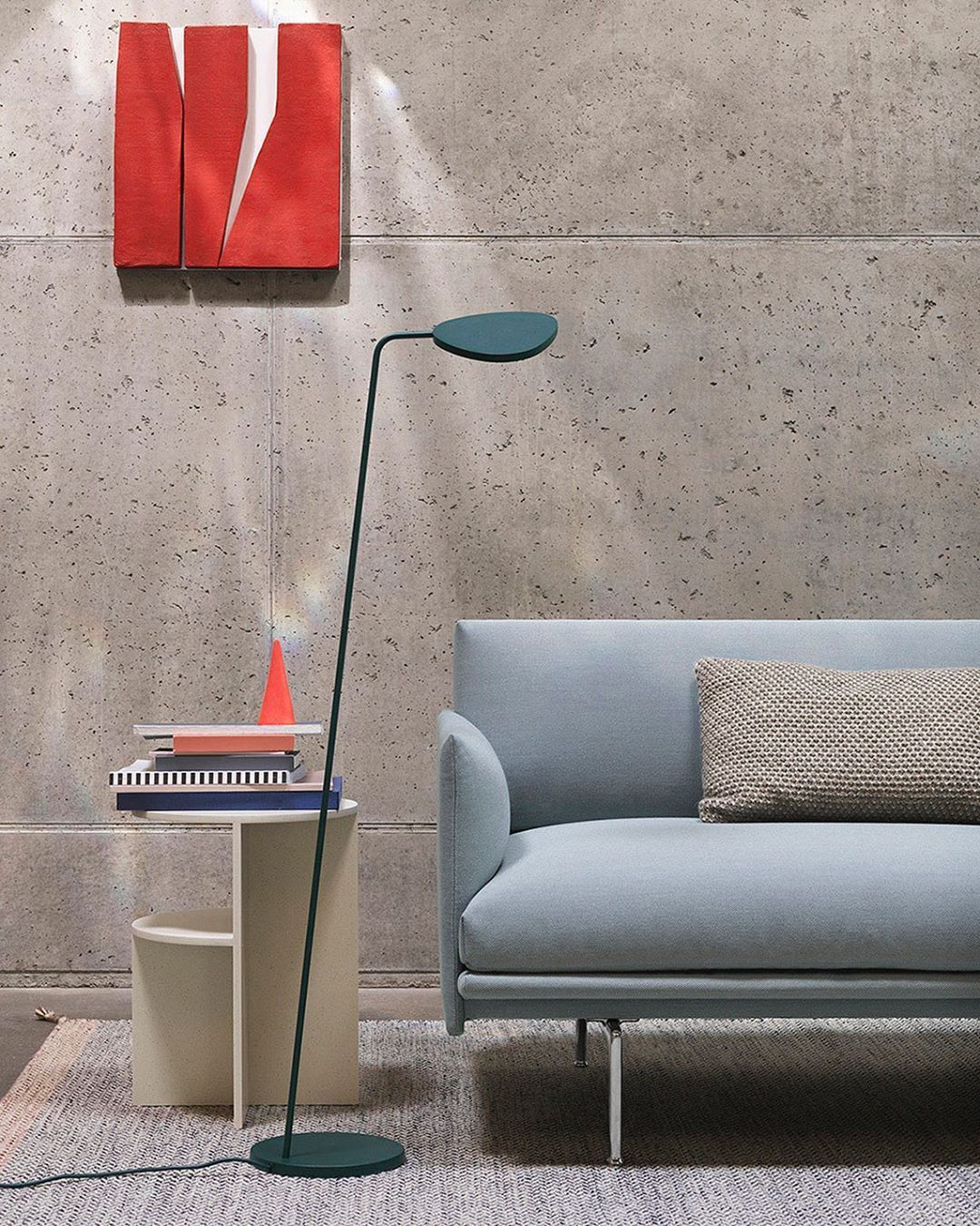 Muuto On Instagram Introducing A New Color Of The Leaf Floor Lamp Dark Green Also Available Now For The Leaf Table Lamp Muuto Newpe In 2020 Floor Lamp Lamp Muuto