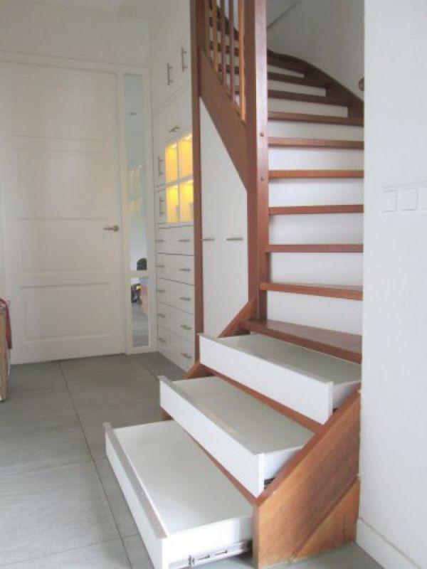 lades in trap maken - nadelen   trap - escadas, decoração en arquitetura