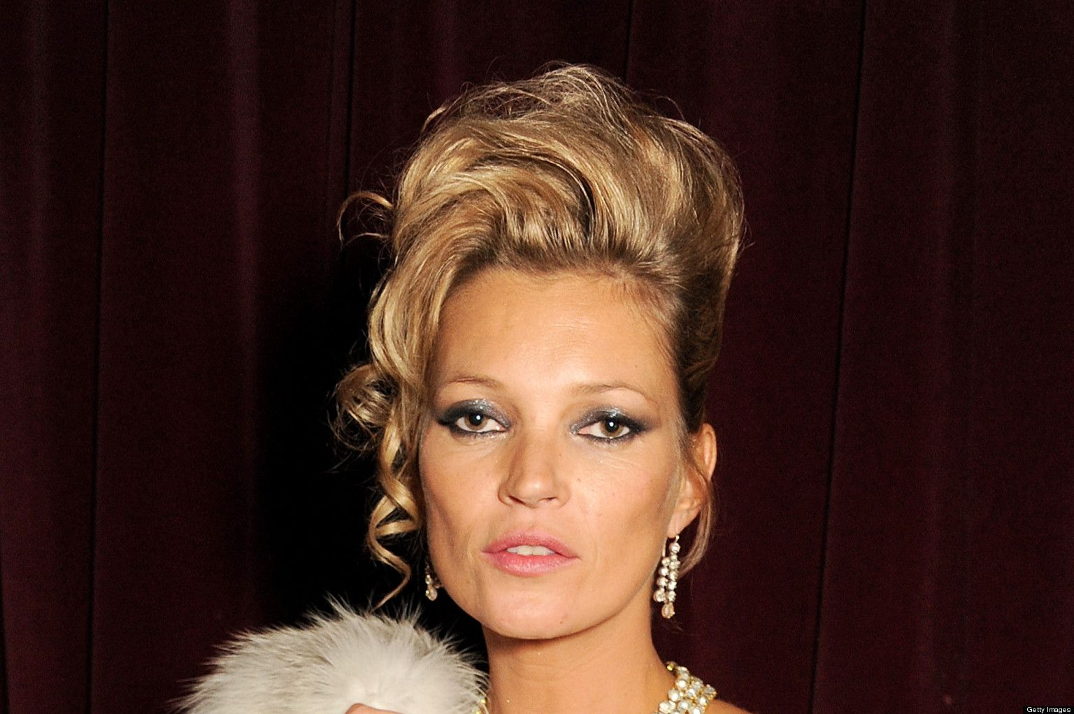 Kate Moss 80's Hairstyle