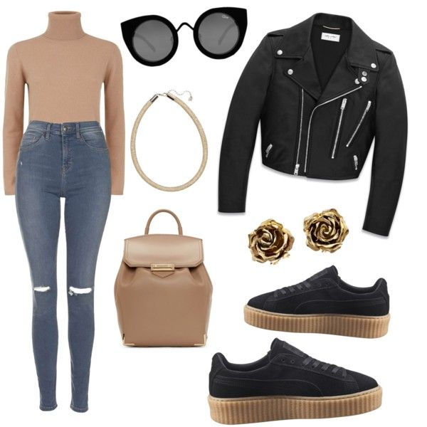 puma shoes black and gold outfit casual para fiesta