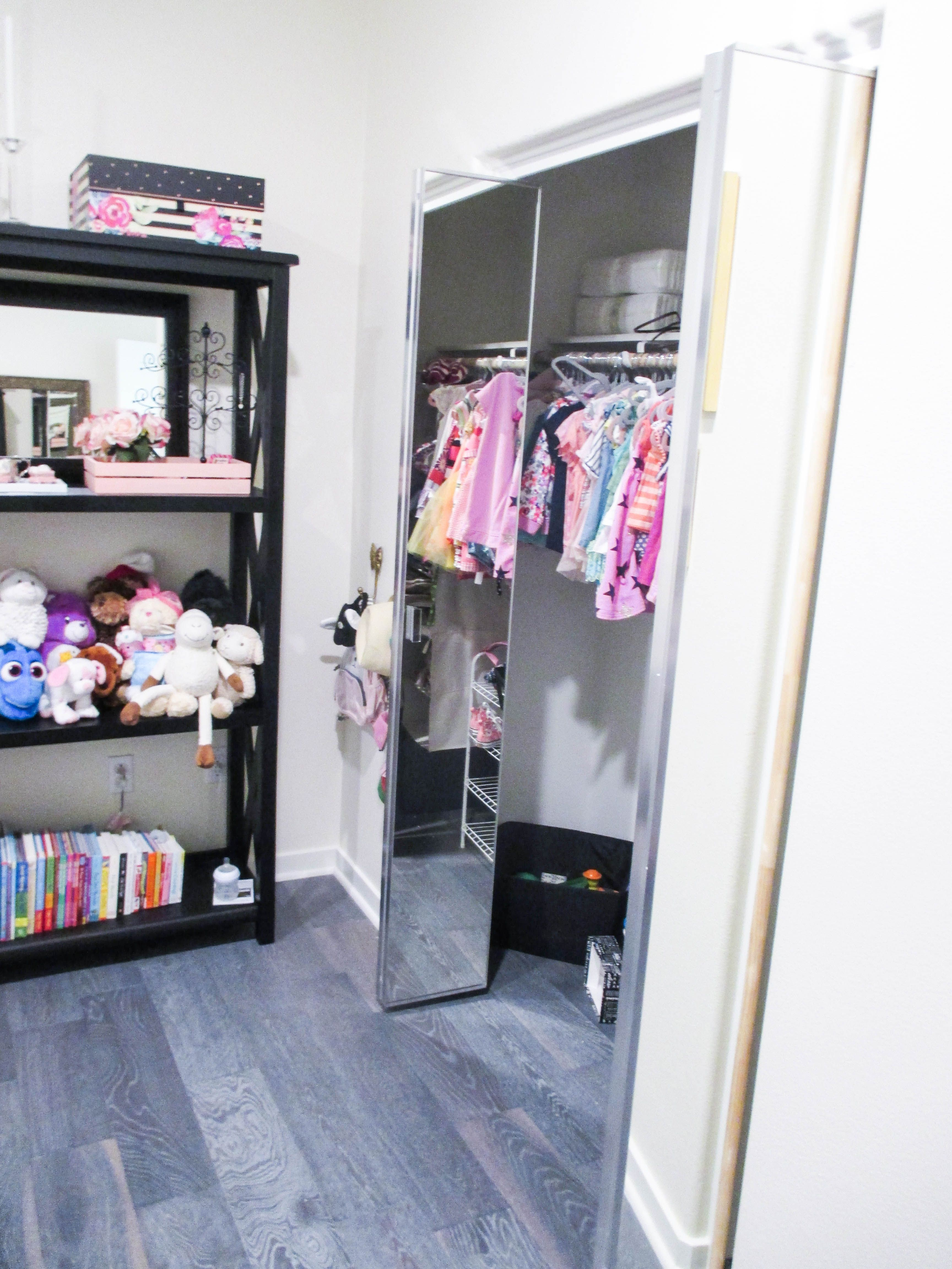 pin out check wardrobe installed contractors that of panel folding a this trimline in with recently panels installation we closet doors bi mirror kids