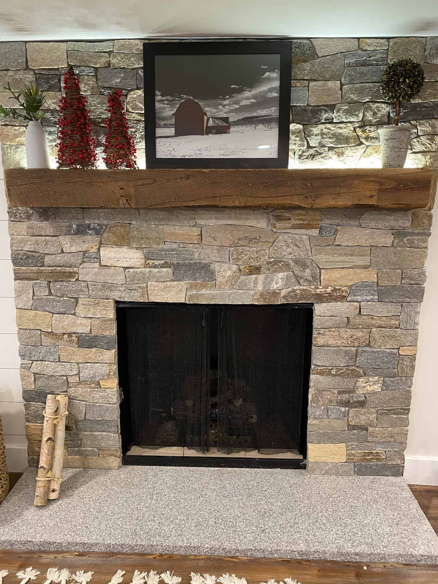 Most Up To Date Absolutely Free Stone Fireplace Cottage Tips Customer Fireplace Prestige Weather Ledge Stone No Stone Above Wrap In 2020 Fireplace Remodel Stone Fireplace Mantles Stone Fireplace Makeover