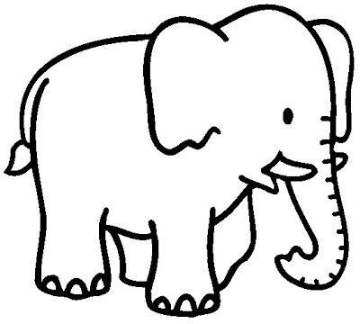 Mi Coleccion De Dibujos Elefantes Infantiles Para Pintar