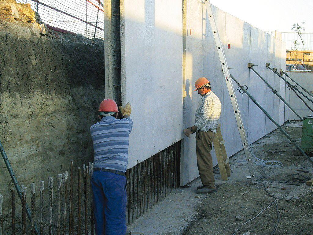 » muros Procedimientos de #construcción