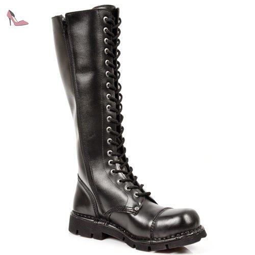 New Rock Boots Stiefel gothic schwarz  M.NEWMILI19-S1