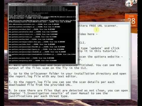 How to scan a URL or website with Quttera URL Scanner  | Web