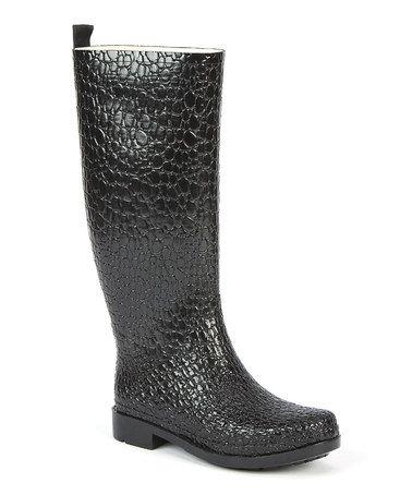 Black Croc Boot - Women by The Original Muck Boot Company