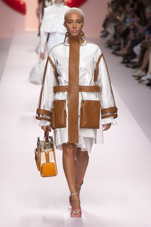 Fashion style Spring fendi runway for girls