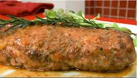 Photo of Easy recipe: Vegetarian meatloaf with cheese and walnuts