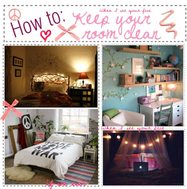 How To Keep Your Room Clean By Polyvoretipchics Liked On Polyvore