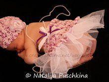 Häkelanleitung: Mütze und Rock für exklusive Babyfotos #Häkeln Sie Blusendia…