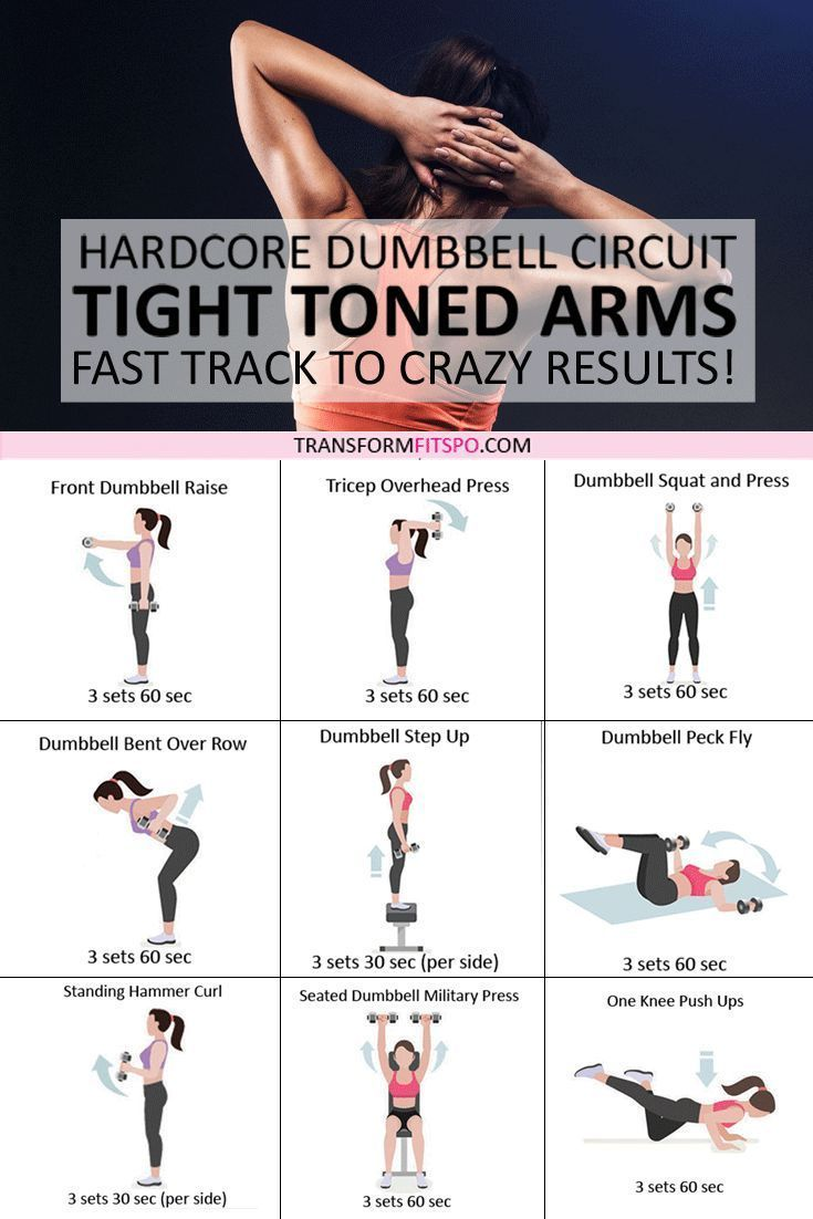 #armfat #dumbbellforwomen #flabbyarms #womensworkouts #dumbbellcircuit Tone and ...   - Health & Fit...