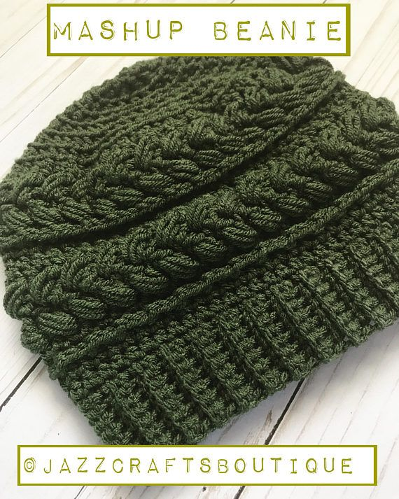 Looking for a unique and comfortable beanie pattern for your hook ...