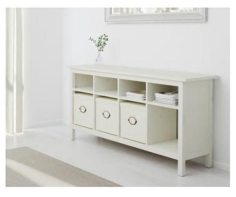Ikea - Hemnes Console Table (white stain) $179 | White console table ikea, Ikea console table ...