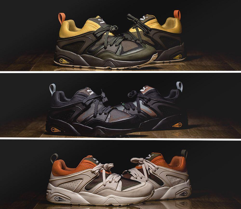 Puma Blaze Of Glory Camping Pack Jesien 2016 Best Sneakers Trendy Sneakers Sneakers