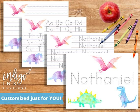 Teach Your Little One To Write With These Adorable Handwriting
