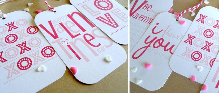 cute VaLentiNe gift/treats tags