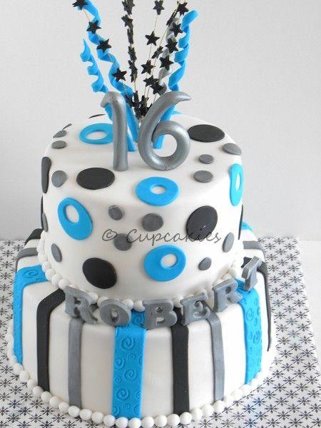 16th Birthday Birthday Cake Boys 16th Birthday Cake