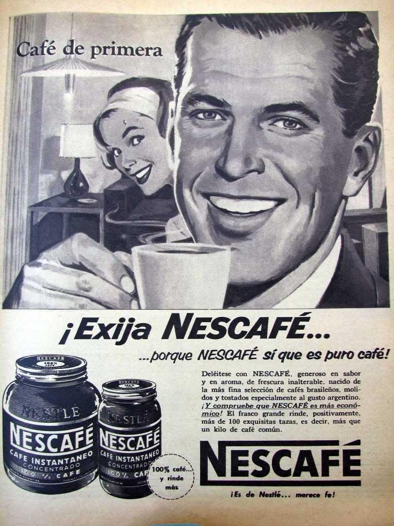 Publicidad años 50                                                                                                                                                      Más