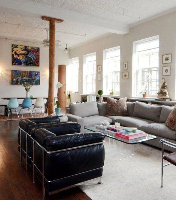 Manhattan New York Studio Apartments: Jocelyn's Modern Manhattan Loft (With Images)