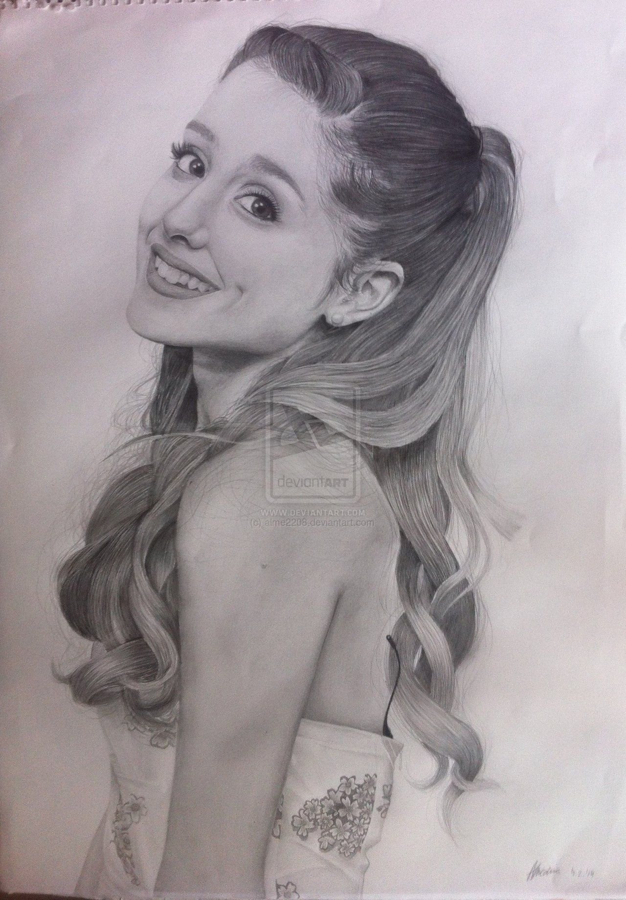 Drawing Of Ariana In Artistiq Drawing