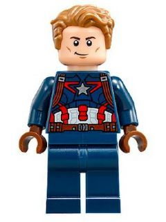 Bron-Char Mini figure Captain Marvel