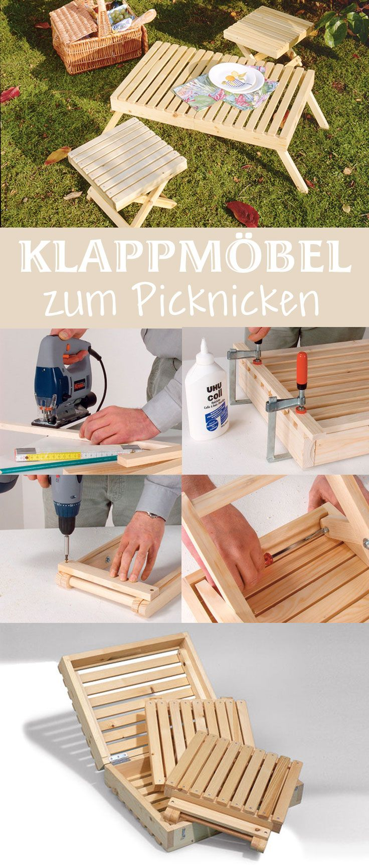 picknicktisch gartenm bel bauen pinterest m bel. Black Bedroom Furniture Sets. Home Design Ideas