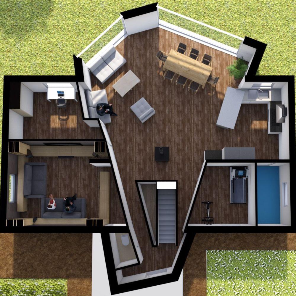 Dollhouse View Made On Floorplanner Com Create Floor Plan Floor Plans Interior Design Software