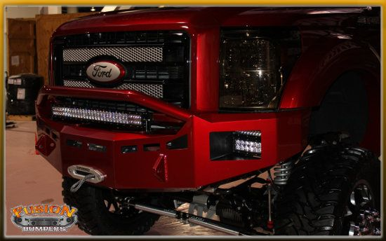 Fusion Bumpers - Ford 2011-2015