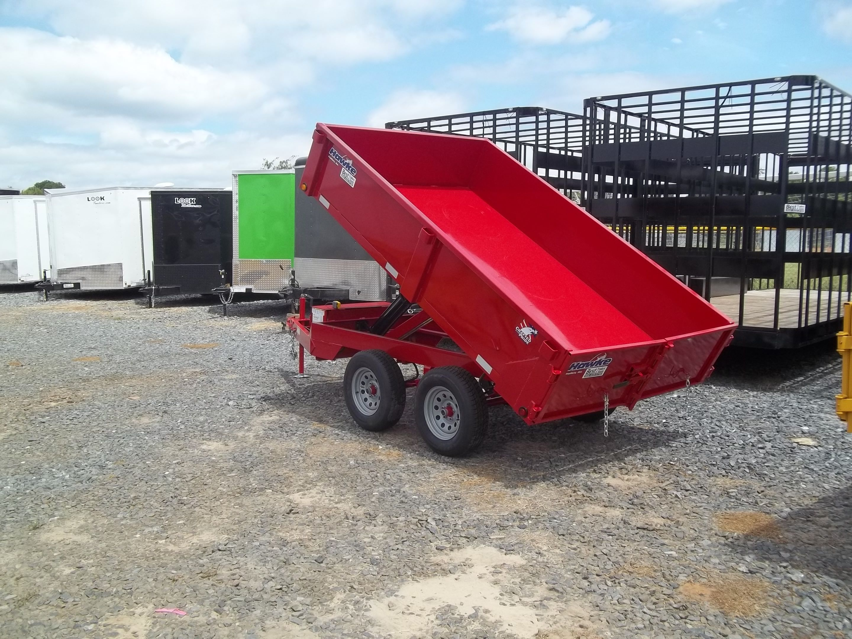 6 X 10 Hawke Dump Trailer 2018 For 3895 Small Dump Trailer By Best Trailers