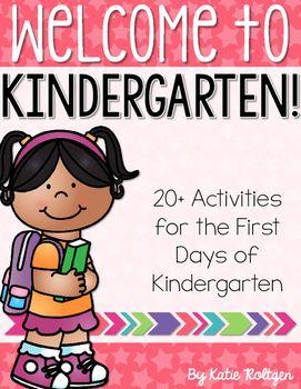 Back To School Activities For Kindergarten Kindergarten Back