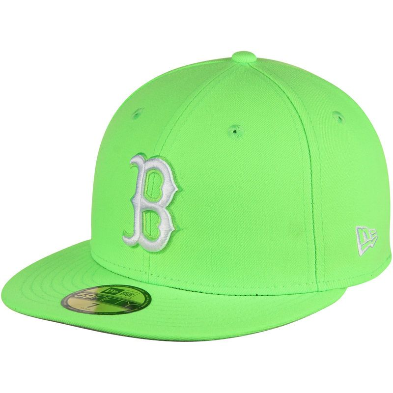 Pin By Thesimone On Lids In 2021 Neon Green Fitted Hats New Era