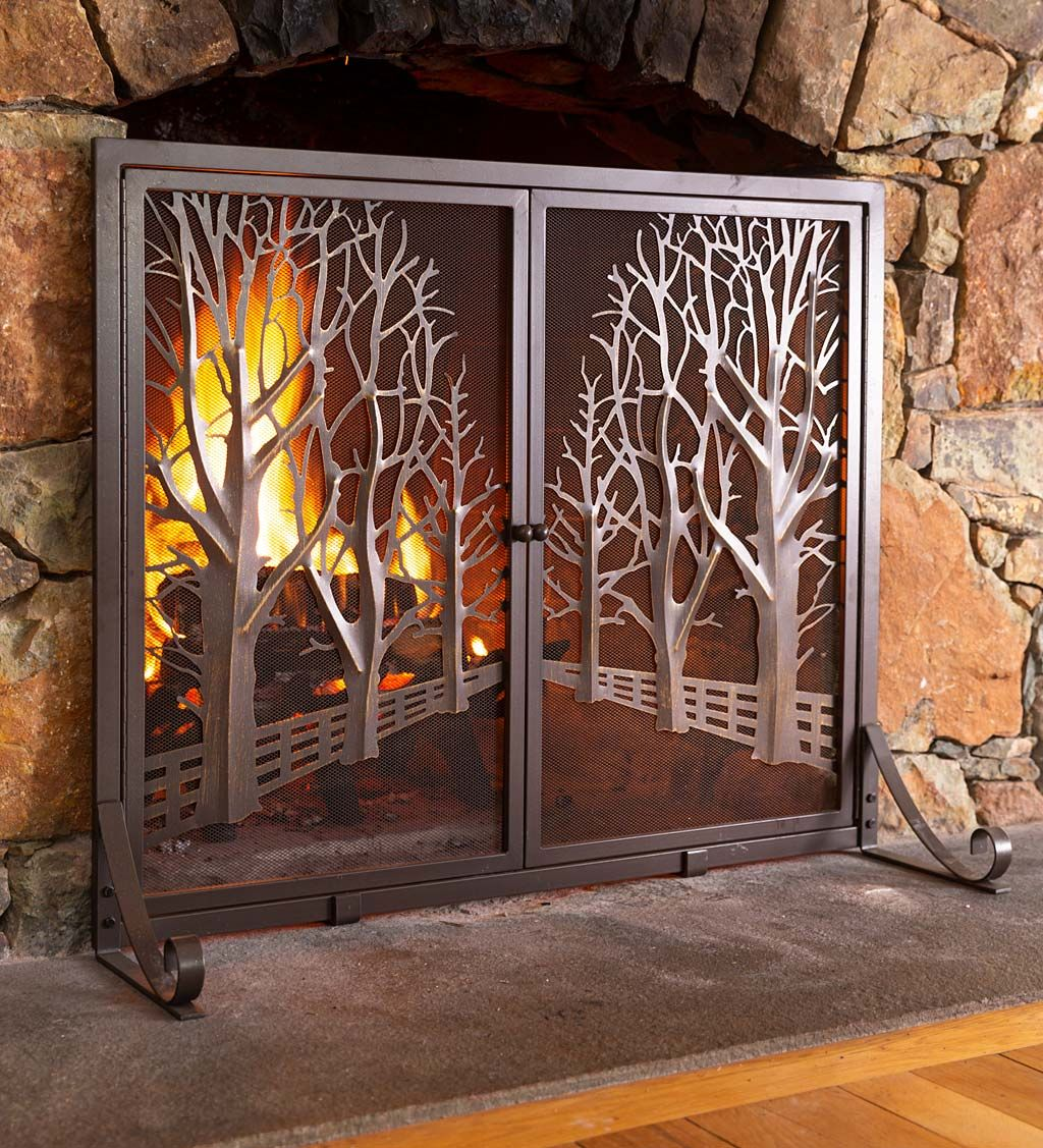 50 Fireplace Screens Ideas In 2020 Fireplace Screens Hearth Fireplace