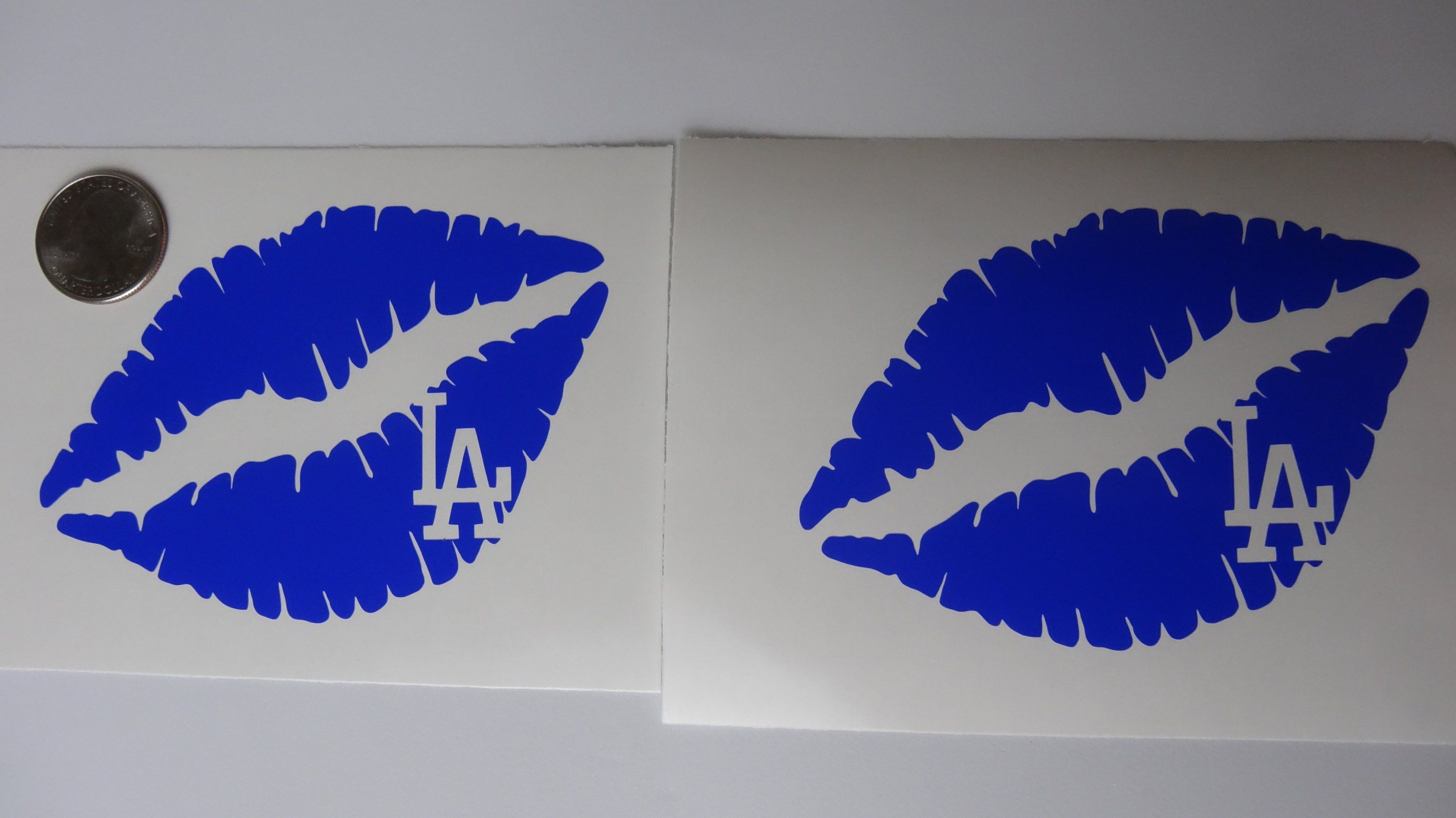 La Dodgers 2x Lips Car Decal Tumbler By Veiledtrove On Etsy Dodgers La Ladodgers Tattoo Lakers Angels Clippers Baseball Pictures Dodgers Baseball Gifts [ 1686 x 3000 Pixel ]