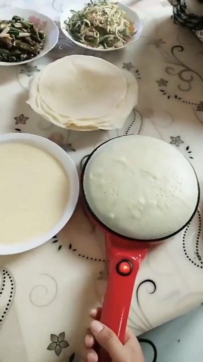 Automatic Portable Crepe Maker #surfacedesign