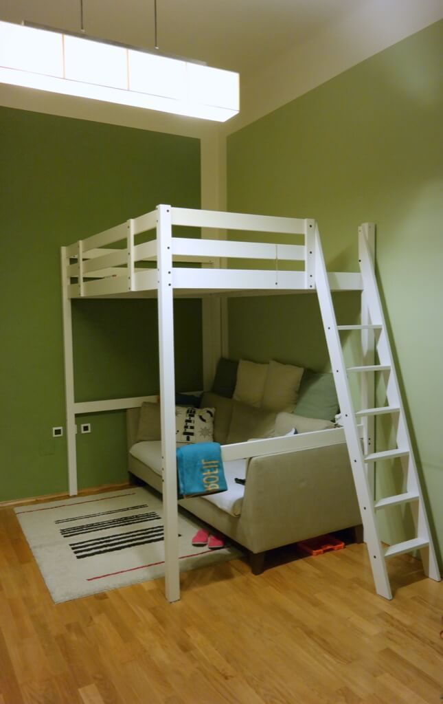 Ikea Hack Loft Office Stora Loft Bed With Desk Ikea Loft Bed Loft Beds For Teens Diy Loft Bed
