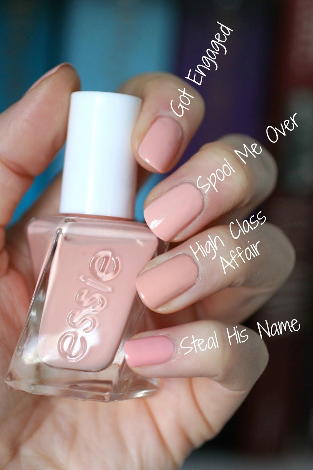 Swoon! This is such an incredibly beautiful pale peachy pink nude ...