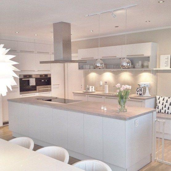 Preciosa casa nórdica en Noruega Decor Pinterest Kleine - farbe für küche