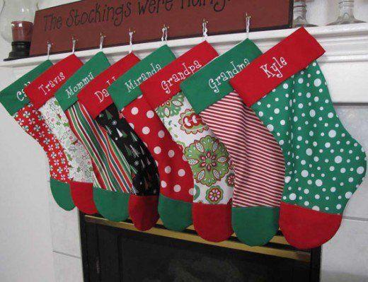 10 Free Christmas Stocking Pattern Tutorials | Stocking pattern ...