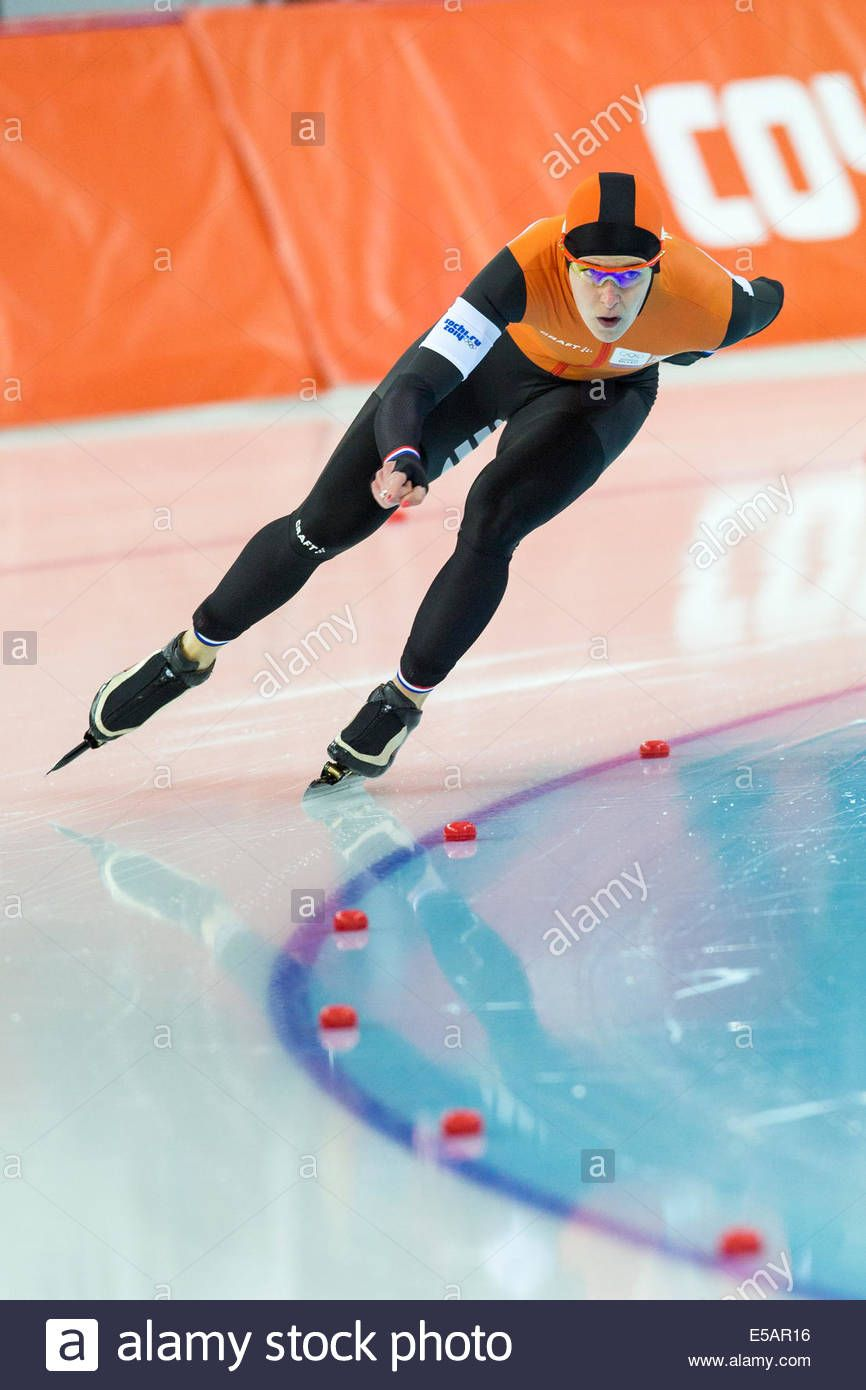 Ireen Wust (ned) Competing In Women's 1500m Speed Skating At The ...