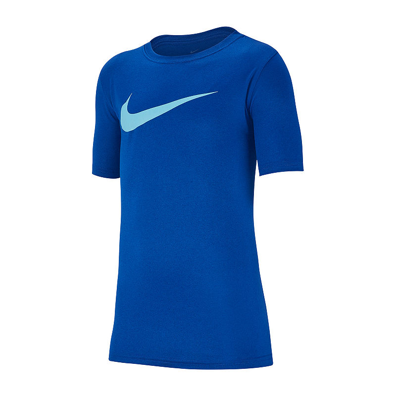 f7a9f3b9 Nike Boys Crew Neck Short Sleeve Dri-Fit Graphic T-Shirt-Big Kid in ...