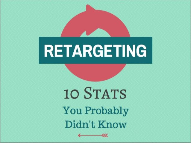 10 Retargeting Stats you Probably Didn't Know by Wishpond