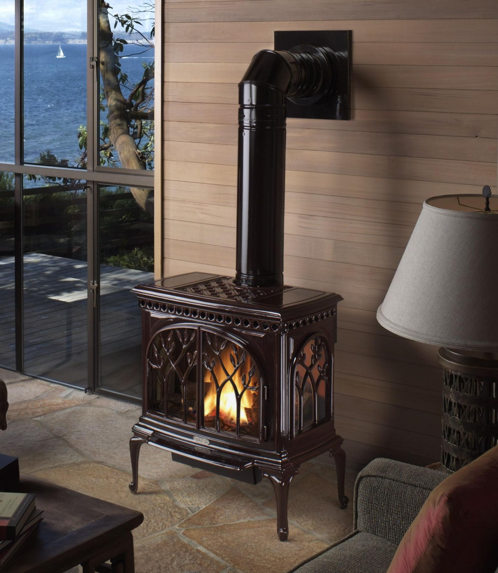 50 Stunning And Innovative Wood Stoves For Your Home Freshouz Com Gas Stove Fireplace Direct Vent Gas Stove Wood Stove
