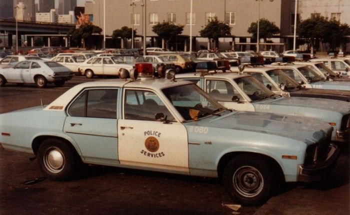 San Francisco Police Chevy Nova Patrol Car C1976 Police Cars