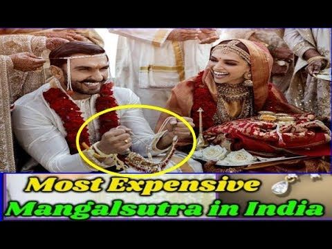 Deepika's Mangalsutra Price | Marriage pictures, Indian ...