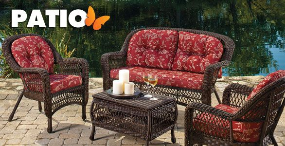Outdoor Living Patio Furniture Mother S Day Present Cushions On