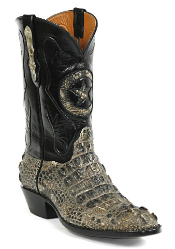 American Alligator Boots Style NT180 Custom-Made by Black Jack Boots