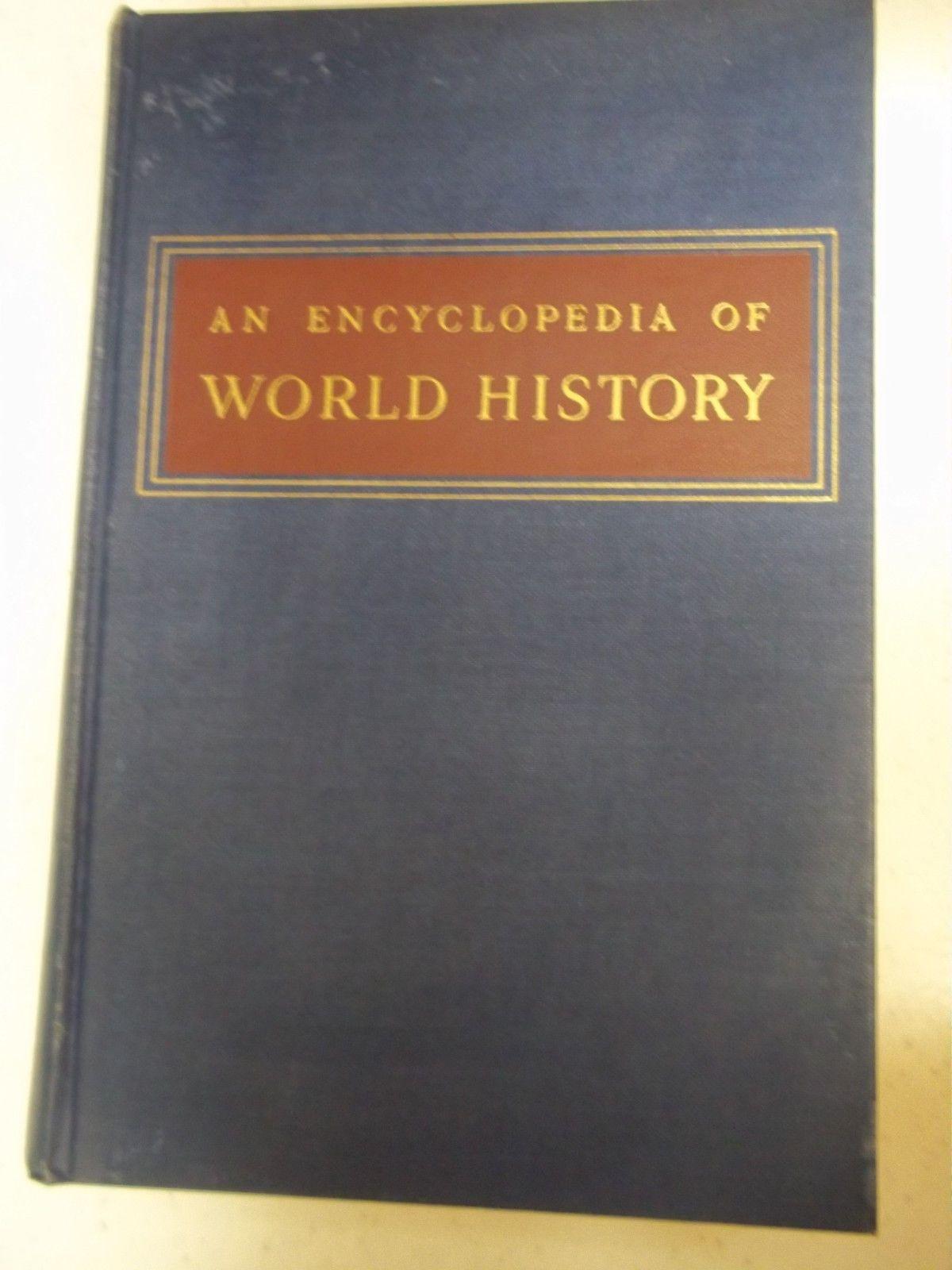 Vintage Rare An Encyclopedia of World History William L  Langer PDF