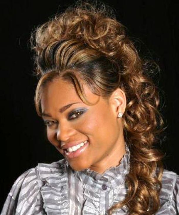 Long Curly Cute Weave Hairstyle Gallery Free Download Long Curly